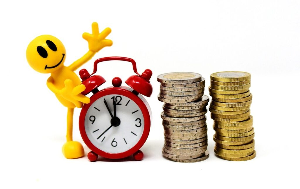 time is money, coins, characters-3290871.jpg